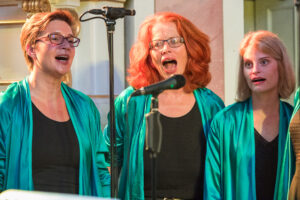 Christine, Gerlinde, Marina